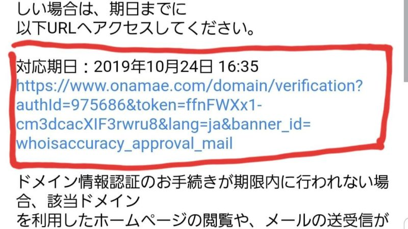 ドメインメールチェック